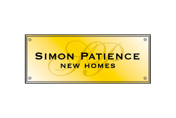 simon patience new homes logo corporate design